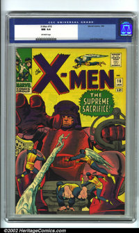 X-Men #16 (Marvel). Another Mighty Mutant Masterwork by the King of Comics, the incomparable Jack Kirby. X-Men books bel...