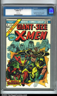 Giant-Size X-Men #1 (Marvel, 1975). This book not only introduces new X-Men Storm, Nightcrawler, Colossus and Thunderbir...