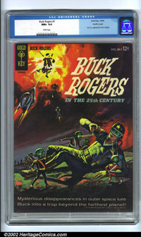Buck Rogers #1 Pacific Coast pedigree (Gold Key, 1964). A truly stunning copy of this hard-to-find book. Not only is thi...