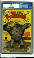 Silver Age (1956-1969):Horror, Konga #5 Bethlehem pedigree (Charlton, 1962). This quirky Ditkomonster book is based on the cult-favorite early '60s Britis...