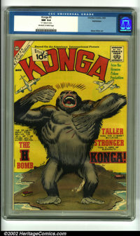 Konga #5 Bethlehem pedigree (Charlton, 1962). This quirky Ditko monster book is based on the cult-favorite early '60s Br...