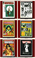 Bronze Age (1970-1979):Horror, Vampirella Complete Set (Warren, 1968-1988). Outstanding collectionof Warren's long-running black-and-white horror magazine...