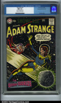 Golden Age (1938-1955):Science Fiction, Showcase #19 Big Apple pedigree (DC, 1959). Adam Strange makes histhird and final Showcase appearance here before movin...