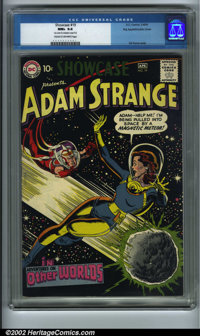 Showcase #19 Big Apple pedigree (DC, 1959). Adam Strange makes his third and final Showcase appearance here before movin...