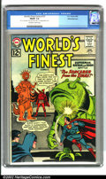 Silver Age (1956-1969):Superhero, World's Finest Comics #127 White Mountain pedigree (DC, 1962). A sharp-looking copy from the White Mountain collection, this...
