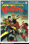 Golden Age (1938-1955):Western, All-American Western #118 Mile High pedigree (DC, 1951). One lookat this book, and you will be able to appreciate why colle...