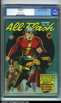 Golden Age (1938-1955):Superhero, All-Flash #13 Mile High pedigree (DC, 1943). Another pretty example from the Mile High collection, exhibiting light spine we...