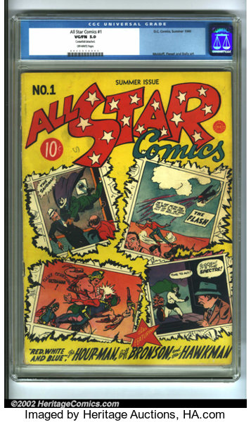 All-Star Comics #1 (DC, 1940)  The first issue of this