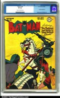 Golden Age (1938-1955):Superhero, Batman #36 (DC, 1946). A superb copy with an action-packed cover by Dick Sprang. A very difficult issue to find in high grad...
