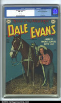 Golden Age (1938-1955):Western, Dale Evans Comics #5 Mile High pedigree (DC, 1949). Aglow-in-the-dark book with the richest blues you have ever seen! Aper...