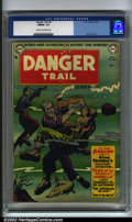 Golden Age (1938-1955):Adventure, Danger Trail #4 (DC, 1951). Featuring a King Faraday story (the last in this title) and exquisite art by Alex Toth, this is ...