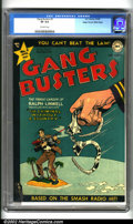 Golden Age (1938-1955):Crime, Gang Busters #3 Mile High pedigree (DC, 1948). A gem of a book from the most prestigious pedigree of them all. Front cover, ...