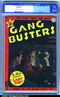 Golden Age (1938-1955):Crime, Gang Busters #9 (DC, 1949). Based on the smash radio hit! An outstanding copy of this pre-code crime comic, with top-notch a...