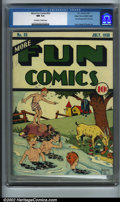 Golden Age (1938-1955):Humor, More Fun Comics #33 Mile High pedigree (DC, 1938). More Fun #1-51 have always proven an extremely difficult run to assem...