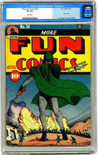 More Fun Comics #54 (DC, 1940). DC's very first title (starting as New Fun) has always been a fan favorite for its rarit...