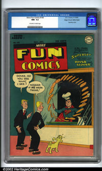 More Fun Comics #106 Mile High pedigree (DC, 1945). This issue features the third cover appearance of Superboy and his s...