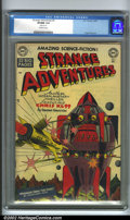 Golden Age (1938-1955):Science Fiction, Strange Adventures #3 (DC, 1950). Offered here is a high-grade example from DC's popular fantasy series, featuring art by th...