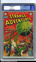 Golden Age (1938-1955):Science Fiction, Strange Adventures #6 White Mountain pedigree (DC, 1951). Early DCsci-fi comic with one of the most awesome covers produced...