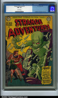 Golden Age (1938-1955):Superhero, Strange Adventures #10 (DC, 1951). Another great issue, this one has Captain Comet's second appearance, as he battles the Ai...