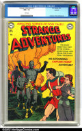Golden Age (1938-1955):Science Fiction, Strange Adventures #13 Spokane pedigree (DC, 1951).This is anunbelievable copy of Strange Adventures #13 from the Spoka...