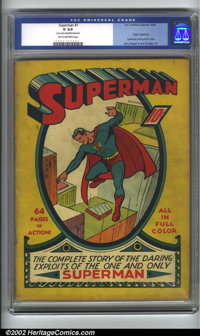 Superman #1 (DC, 1939). The Man of Steel, a cultural icon, can spawn a multitude of discussions within or outside the co...