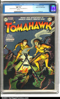 Golden Age (1938-1955):Adventure, Tomahawk #1 Mile High pedigree (DC, 1950). This issue presents a rare opportunity. Key issues from the Mile High collection ...