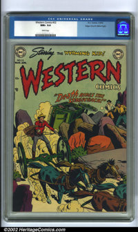 Western Comics #32 Mile High pedigree (DC, 1952). This copy of Western Comics is truly impressive, looking like it came...