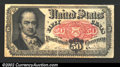 Fractional Currency:Fifth Issue, Fifth Issue 50¢, Fr-1381, VF. A heavy center fold has caused a ...