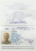 Explorers:Space Exploration, Buzz Aldrin United States Passport,...