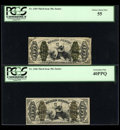 Fractional Currency:Third Issue, Two Scarce Justices.... (Total: 2 notes)