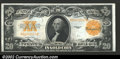 Large Size:Gold Certificates, 1922 $20 Gold Certificate, Fr-1187, CU. A bright, colorful Unci...