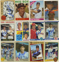 Autographs:Sports Cards, Carl Yastrzemski Signed Trading Cards Lot of 12. The great Red Soxslugger who took the place of the mighty Ted Williams, C...