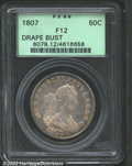 Early Half Dollars: , 1807 50C Draped Bust Fine12 PCGS. Mintage: 301,076. The latest...