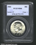 Kennedy Half Dollars: , 1964 50C MS66 PCGS. Mintage: 273,300,000. The latest Coin Worl...
