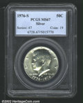 Kennedy Half Dollars: , 1976-S 50C Silver MS67 PCGS. Mintage: 11,000,000. The latest C...