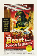 "Movie Posters:Science Fiction, The Beast From 20,000 Fathoms (Warner Brothers, 1953). One Sheet(27"" X 41"")...."