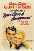 "Movie Posters:Comedy, Once Upon a Honeymoon (RKO, 1942). One Sheet (27"" X 41"")...."
