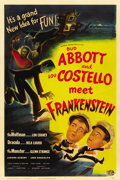 "Movie Posters:Horror, Abbott and Costello Meet Frankenstein (Universal International,1948). One Sheet (27"" X 41"")...."