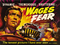 """Wages of Fear (DCA, 1955). British Quad (30"""" X 40"""")"""