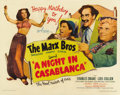 "Movie Posters:Comedy, A Night in Casablanca (United Artists, 1946). Half Sheet (22"" X28"") Style A...."