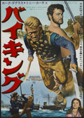 "Movie Posters:Action, The Vikings (United Artists, 1958). Japanese B2 (20.25"" X 28.5"").Action...."