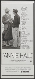 "Movie Posters:Academy Award Winner, Annie Hall (United Artists, 1977). Australian Daybill (13.5"" X30""). Academy Award Winner...."