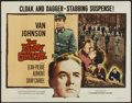 "Movie Posters:War, The Enemy General (Columbia, 1960). Half Sheet (22"" X 28""). War...."