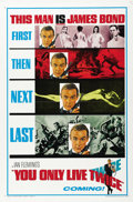 "Movie Posters:James Bond, You Only Live Twice (United Artists, 1967). One Sheet (27"" X 41"")Advance...."