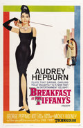 "Movie Posters:Romance, Breakfast At Tiffany's (Paramount, 1961). One Sheet (27"" X 41"")Tri-Folded...."