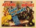 "Movie Posters:Musical, Shall We Dance (RKO, 1937). Title Lobby Card (11"" X 14"")...."