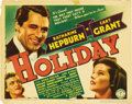 """Movie Posters:Comedy, Holiday (Columbia, 1938). Title Lobby Card (11"""" X 14"""")...."""