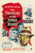 "Movie Posters:Drama, The Treasure of the Sierra Madre (Warner Brothers, 1948). One Sheet(27"" X 41"")...."