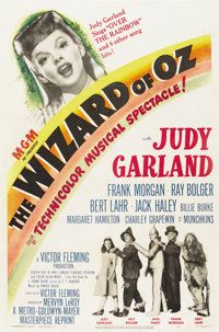 """The Wizard of Oz (MGM, R-1949). One Sheet (27"""" X 41"""")"""
