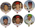 "Baseball Cards:Sets, 1973 Topps Candy Lids Complete Set (55). A bit out of the ordinary,the Topps Candy Lids were the top of a product called ""B..."